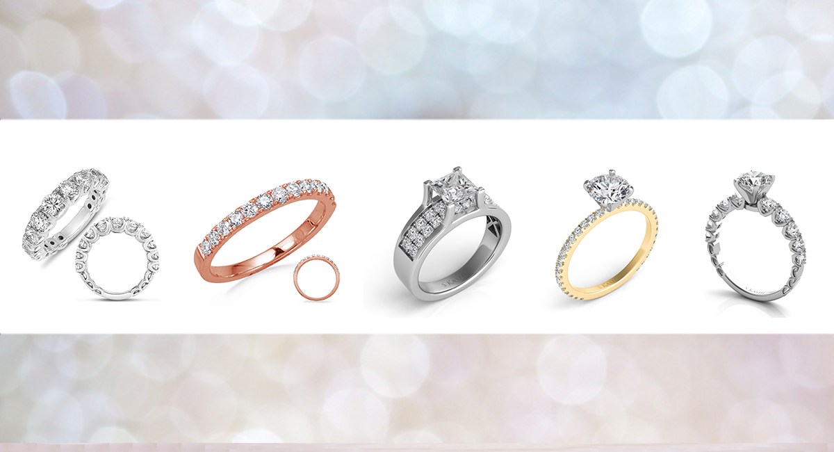 The Different Types of Women's Wedding Ring Metals