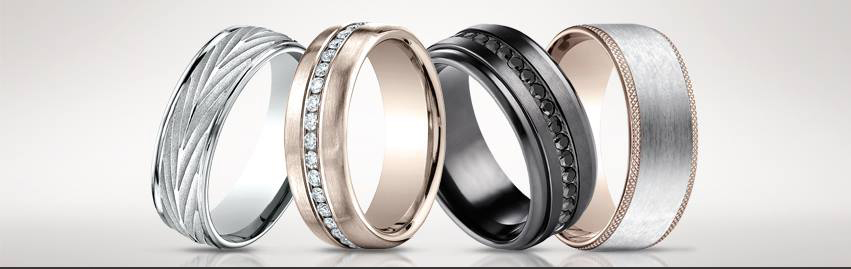 The Different Types of Men's Wedding Band Metals